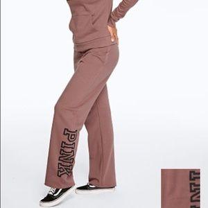 NEW Victoria Secret PINK Boyfriend Sweatpants S
